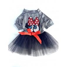 Dogi&Dog Eyes Tütü Elbise (Küçük Irk)